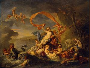 Jean-Baptiste van Loo - Image: Vanloo, Triumph of Galatea