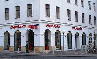 Vapiano - Restaurant in Leopoldstadt, Vienna (2009)