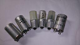 様々な点灯管