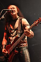 "Venom, Conrad ""Cronos"" Lant at Party.San Metal Open Air 2013 06.jpg"