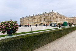 Louis XIV's third building campaign resulted in the construction of the Hall of Mirrors.
