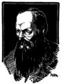 Victor Ion Popa - Fedor Mihailovici Dostoiewski, Gândirea, 15 oct 1921.png