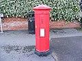 Victorian Postbox in Mount Pleasant, Framlingham - geograph.org.uk - 1124977.jpg