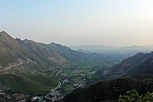 Malakand District - View from Top of Malakand Pass