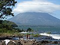 View of Concepcion Volcano from Balgue - Ometepe Island - Nicaragua (31699812411).jpg