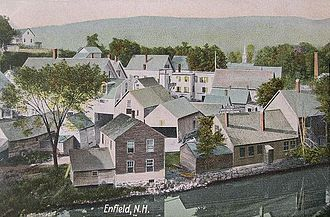 Enfield, New Hampshire - Image: View of Enfield, NH