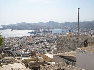 Syros - View from Ano Syros