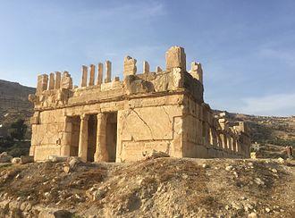 Tobiads - View of Qasr Al-Abd.