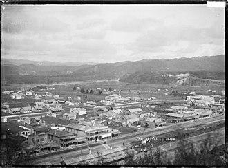 Taumarunui - A view of Taumarunui, circa 1910s