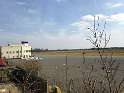 View of Weston Airport from North.jpg