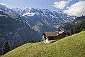 View to Lauterbrunnen valley at Mürren, Bern, Switzerland, 2012 August - 2.jpg