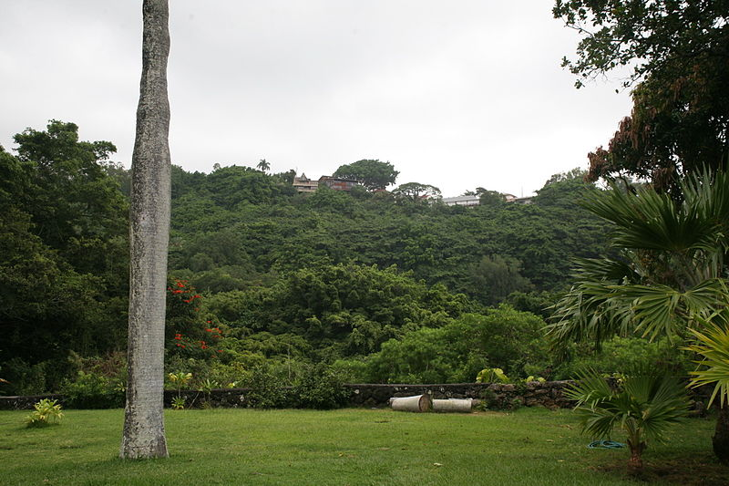 File:View to the rear of the Royal Mausoleum at Mauna Ala.jpg