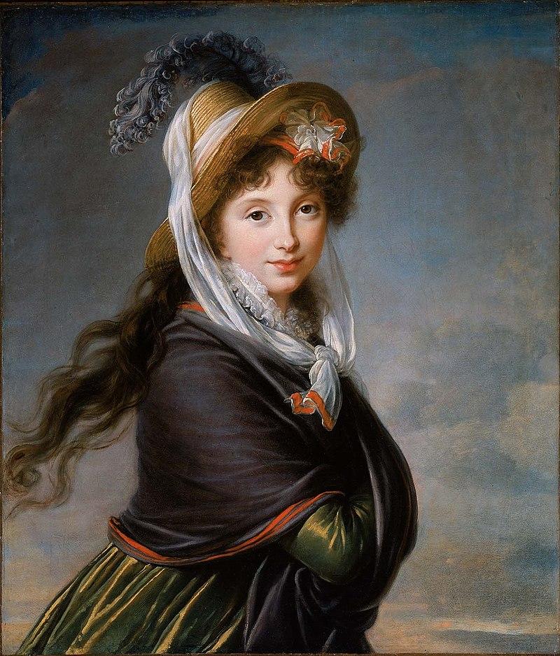 а этот ее портрет висит ныне в Бостонском музее, она тратила на художников деньги от работорговли