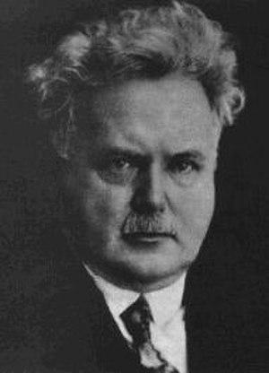 Viktor Dyk - Photograph of Dyk, circa 1917