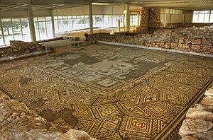 Villa Armira - Image: Villa Armira, the Mosaics 4