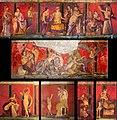 Villa of the Mysteries (Pompeii) - frescos 02.jpg