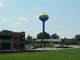 Village of Johnson Creek Water Tower.JPG