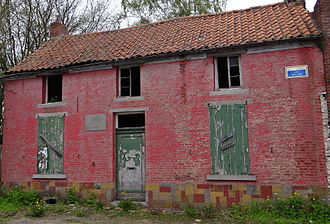 Colfontaine - House in Wasmes where Vincent van Gogh resided in 1878-1879