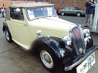 Standard Motor Company - 1947 Twelve drophead coupé