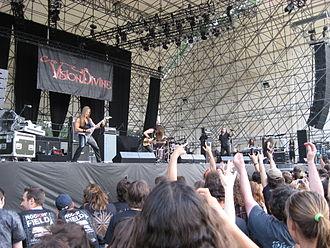 Vision Divine - Vision Divine at Rockin' field festival 2008 (Idroscalo, Milan)