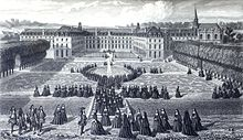 Description de l'image Visit of Louis XIV at Saint Cyr.jpg.
