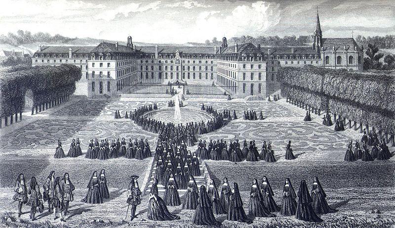 http://upload.wikimedia.org/wikipedia/commons/thumb/1/11/Visit_of_Louis_XIV_at_Saint_Cyr.jpg/800px-Visit_of_Louis_XIV_at_Saint_Cyr.jpg