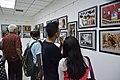 Visitors At Inaugural Day - 45th PAD Group Exhibition - Kolkata 2019-06-01 1262.JPG