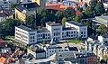 Vista de la Universidad de Bergen desde la montaña Fløyen, Bergen, Noruega, 2019-09-08, DD 44.jpg