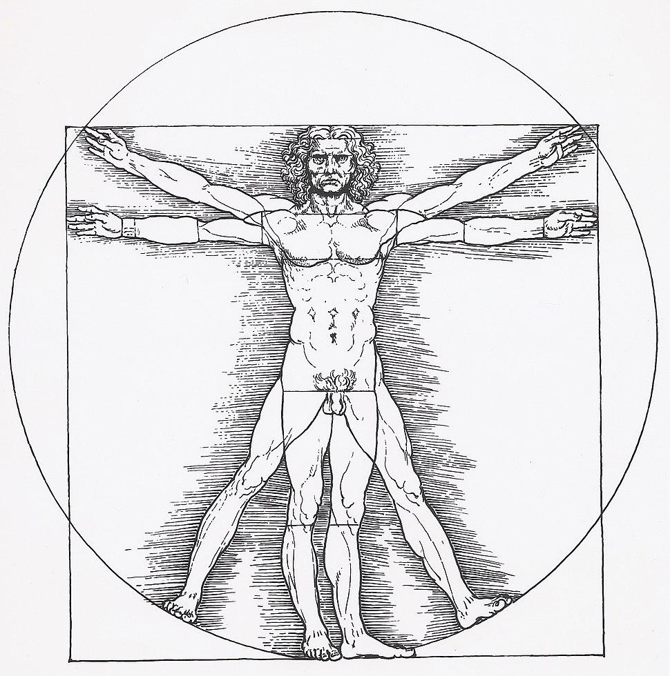 Vitruvianischer Mann