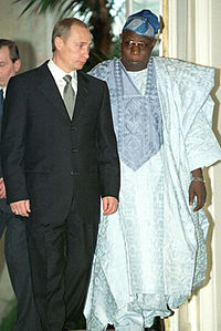 Vladimir Putin 6 March 2001-2