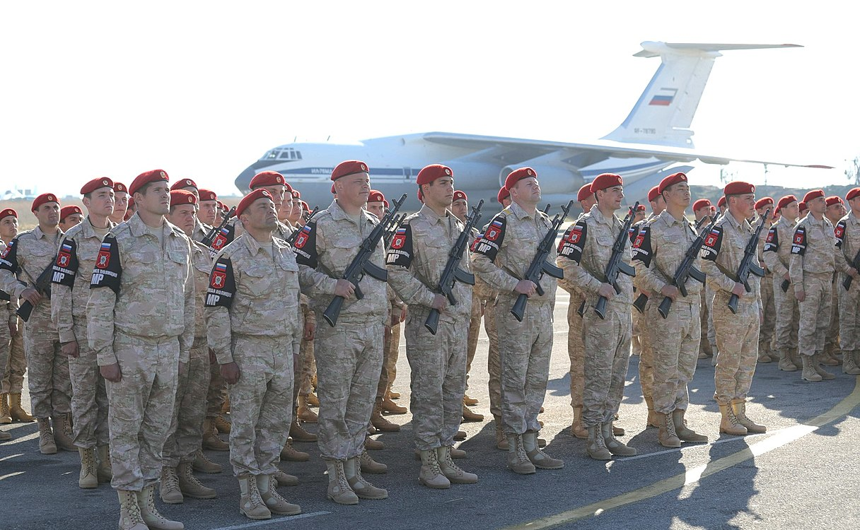 Vladimir Putin in Khmeimim Air Base in Syria (2017-12-11) 19.jpg
