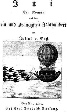 Titelblatt von Ini. Roman aus dem ein und zwanzigsten Jahrhundert (1810) (Quelle: Wikimedia)