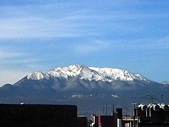 Cumbres del Ajusco National Park -  View of the Cumbres del Ajusco from Mexico City