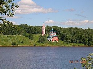 Tutayev - The Volga divides Tutayev into two parts