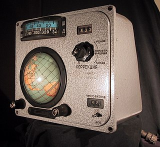 navigation system used by Soviet and Russian crewed spacecraft from 1961 to 2002