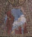 Vrtbovská zahrada, sala terrena, průhled na antické ruiny - freska.JPG