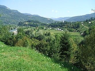 Bistra, Maramureș - Image: Vviseului 2