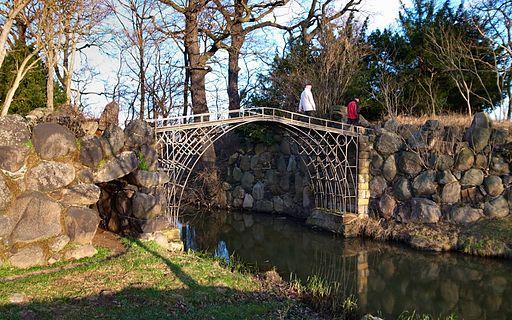 Wörlitz, Die Eiserne Brücke