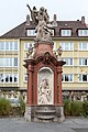 Würzburg, Hofgasse, Chronosbrunnen-20151106-004.jpg