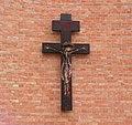 Włocławek-coronavirus plague cross on the Saintest Savior Church (2).jpg