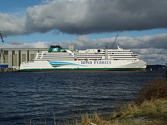 Irish Ferries - W.B. Yeats under construction