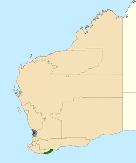 Electoral district of Albany State electoral district of Western Australia