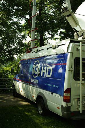 WHAM-TV - WHAM news truck