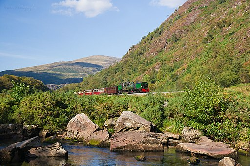 WHR No.143 south from Beddgelert