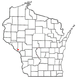 Location of Dodge, Wisconsin