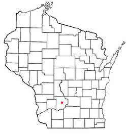 Location of Freedom, Sauk County, Wisconsin