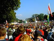 Der Eröffnungsgottesdienst auf der Hofgartenwiese in Bonn