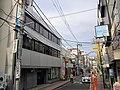 Wadamachi Shopping Street & Shonan Shinkin Bank Hodogaya Branch.jpg