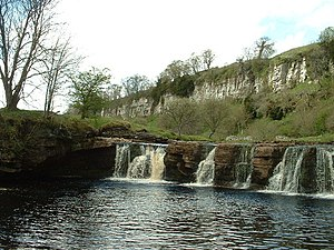 River Swale - Image: Wain Wath Force, near Keld geograph.org.uk 9058