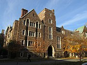 Walker Hall, Wilson College, Princeton University, Princeton NJ